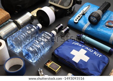 Preppers are known for preparing for natural disasters,economic collapse,civil unrest or any doomsday scenario.Such items would include food,water,lighting,shelter,and a first aid kit.Bug out kit.  #1493093516