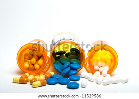 Prescription Medication - stock photo