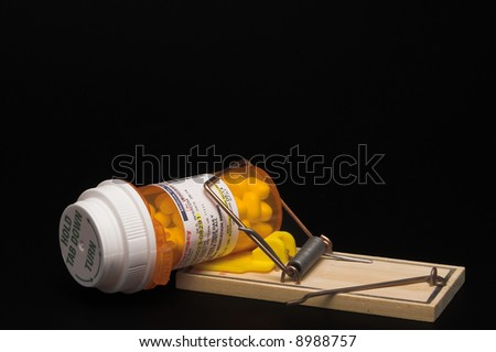 Prescription Medication in a Mouse Trap