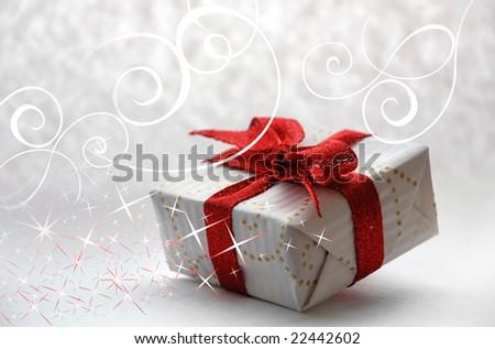 Present - stock photo