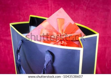 present box and present bag #1043538607
