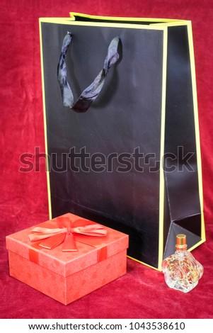 present box and present bag #1043538610