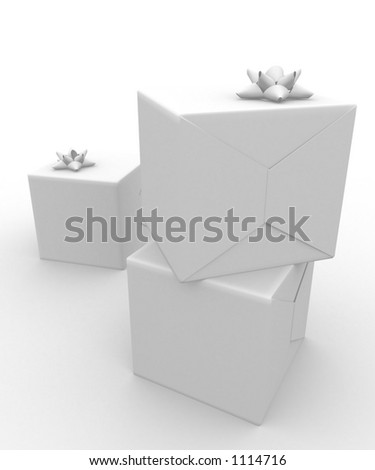 present wrapped in wrapping paper