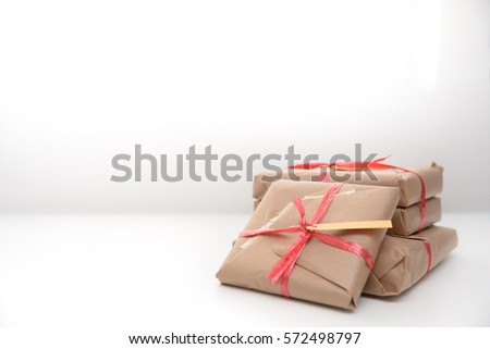 presents on white background #572498797