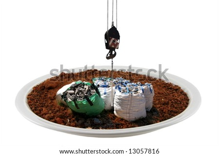 Preservation of the environment - stock photo