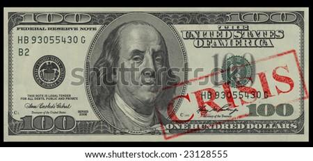 President Franklin sadness because of financial crisis