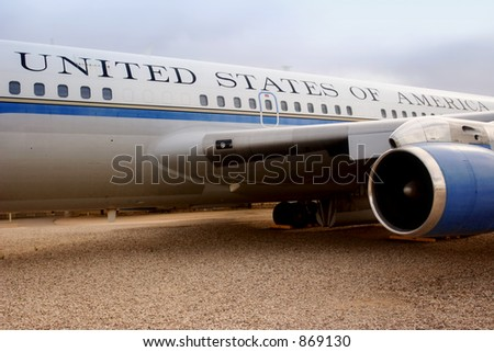Presidential Airforce One (exclusive at shutterstock)