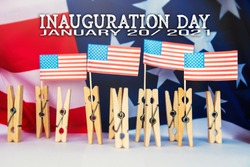 Presidential Inauguration day national federal event in USA background