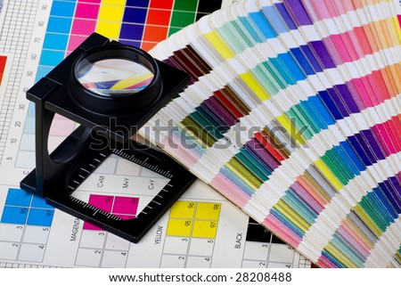 Press color management - print production