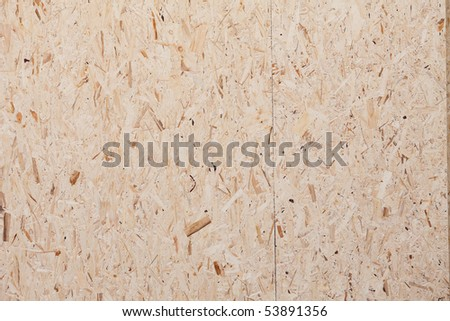 Pressed plywood