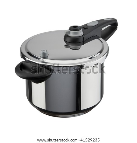 pressure cooker - stock photo
