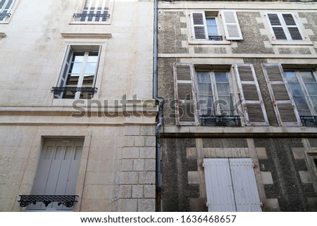 pressure water cleaning washing wall restoration building house before and after facade home apartment exterior