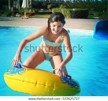 beautiful preteen girl on a beach images and stock photos avopix com rh avopix com