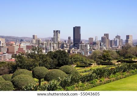 Pretoria Skyline, South Africa