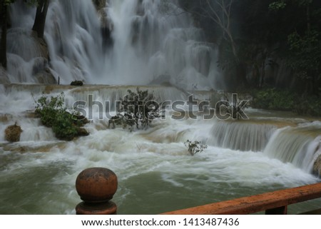 pretty good nature waterfall picture