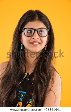 Final, Sexy girl in spectacles indian
