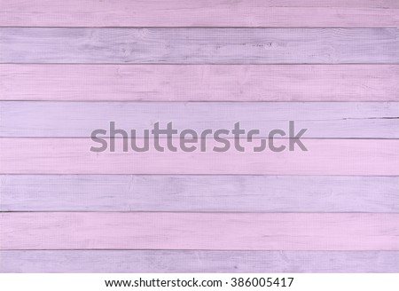 Pretty Pastel Pink and Lavender Painted Wood Boards in Striped, Alternating Pattern as a Rustic, textured Background with room or space for copy, text, your words or design. A Colorful Horizontal
