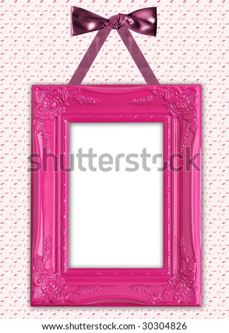 Pretty picture frame.