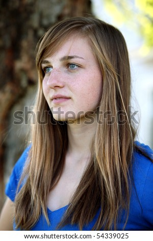 stock photo pretty teen girl with freckles outside 54339025 Related tags: first time male gay stories, nude males with big dicks, ...