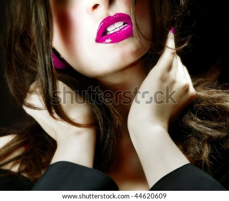 Pretty woman - close-up