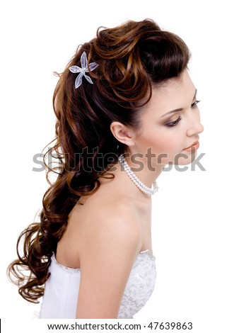 long wedding hairstyles. long wedding hairstyle.