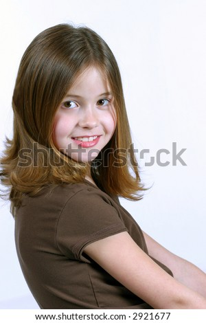 pretty girls with light brown hair. young girl with rown hair