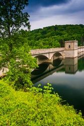 Prettyboy Dam, in Baltimore County, Maryland.