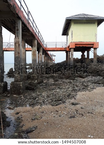 Previously the island served as a research site for the University of Selangor's.but is now only abandoned and poorly managed, as a temporary place for fishermen and stormwater fishermen. #1494507008