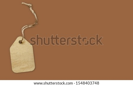 Price tag with price tag with colorful background