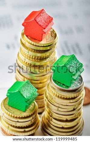 Price variation on real estate market