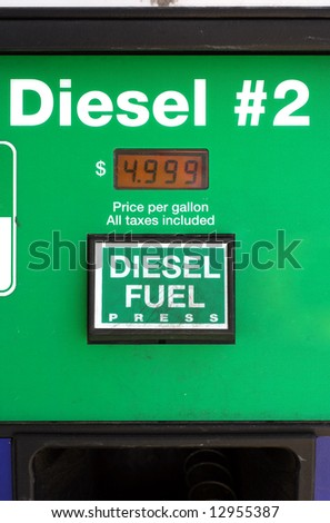 Prices top $5 for diesel in the United States