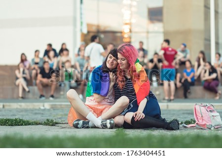 Pride month gay pride LGBT pride world wide movement philosophy that lesbian, gay, bisexual, transgender should be proud of their sexual orientation and gender identity equal rights for LGBT people