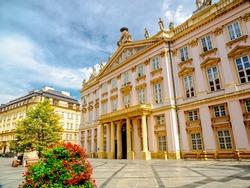 Primate's Palace in Old Town In Bratislava.