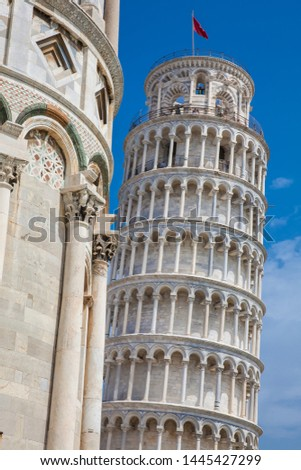 Primatial Metropolitan Cathedral of the Assumption of Mary and the Leaning Tower of Pisa #1445427299