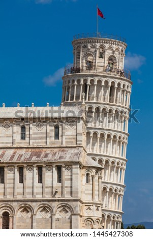 Primatial Metropolitan Cathedral of the Assumption of Mary and the Leaning Tower of Pisa #1445427308