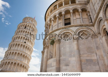 Primatial Metropolitan Cathedral of the Assumption of Mary and the Leaning Tower of Pisa #1445644499