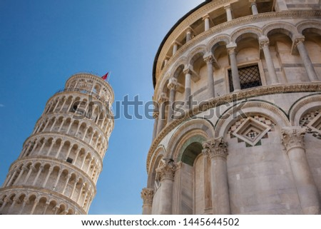 Primatial Metropolitan Cathedral of the Assumption of Mary and the Leaning Tower of Pisa #1445644502