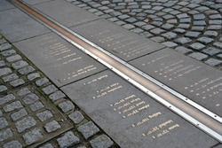Prime Meridian Line in Greenwich, London, England, United Kingdom, Europe