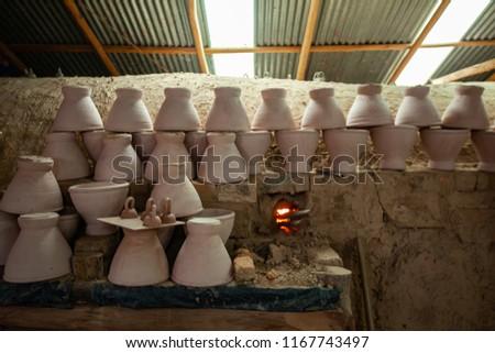 Primitive technology, Termite clay kiln. #1167743497