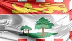 Prince Edward Island Flag. A Canadian island.