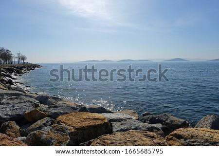 Princes' Islands view from Istanbul Stok fotoğraf ©