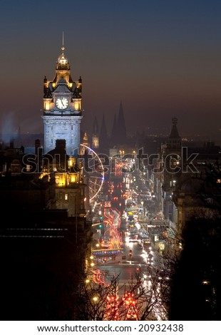 Princes St, Edinburgh