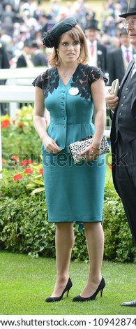 Princess Eugenie of York attends day 1 of the annual Royal Ascot horse racing event. Ascot, UK. June 19, 2012, Ascot, UK Picture: Catchlight Media / Featureflash