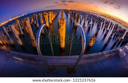 Princess Pier Port Melbourne #1221237616