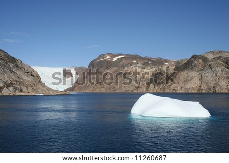 Prins-Christian-Sund in South Greenland