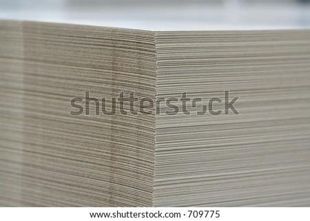 printing cardboard stock