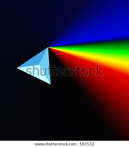 prism and rainbow
