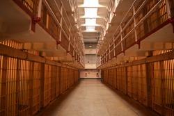 Prison cells in california