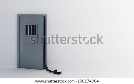 prison doors open