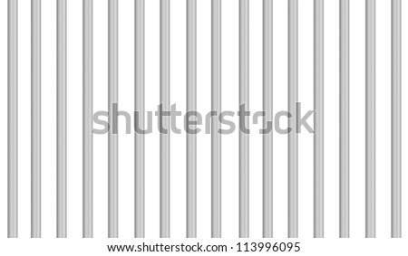 prison grid bars on white background